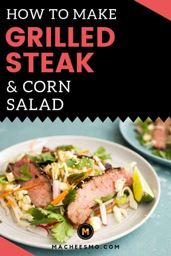 Steak and Corn Salad