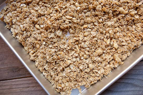 baked Maple Granola