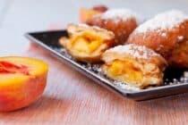 Peach Beignets
