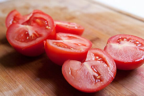 juicy tomatoes - Greek Tomato Salad