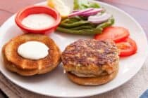 Homemade Shrimp Burger Recipe