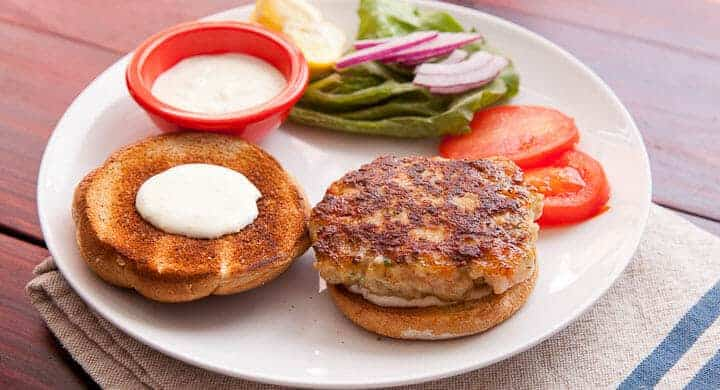 Homemade Shrimp Burger Recipe