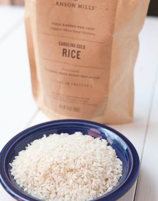 Anson Mills Carolina Gold rice