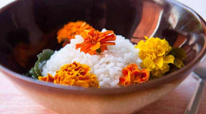 Carolina Gold Rice Recipe via Macheesmo