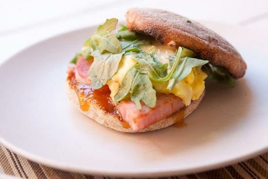 Mango Chutney Breakfast Sandwich