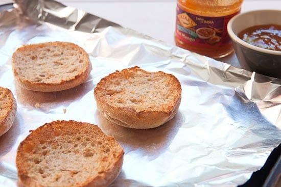 Toast these guys! - Mango Chutney Breakfast Sandwich
