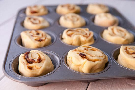 Ready to bake - Cinnamon Sticky Buns