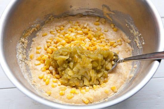 Griddle cake batter - Corn Griddle Cakes