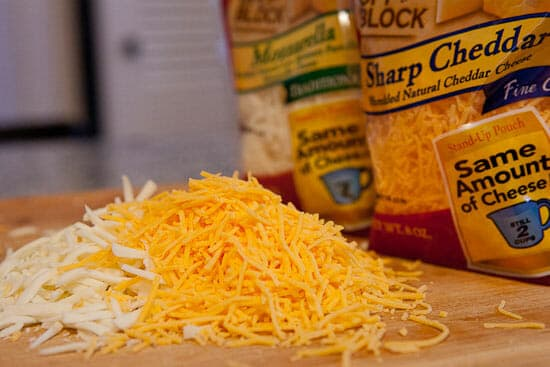 Sargento shredded cheese for Red Potatoes Au Gratin