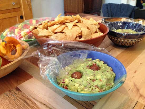 Guac and chips!