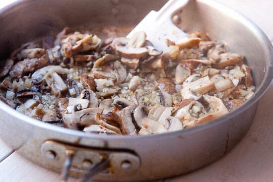 Cook Mushroom ragu