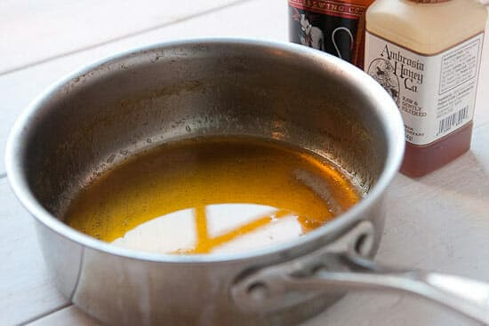 ale syrup for White Chocolate Orange Cookies