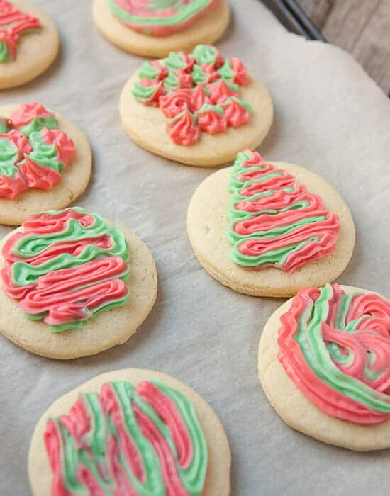Soft Cookies Frosted