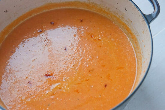 Carrot Coconut Soup done