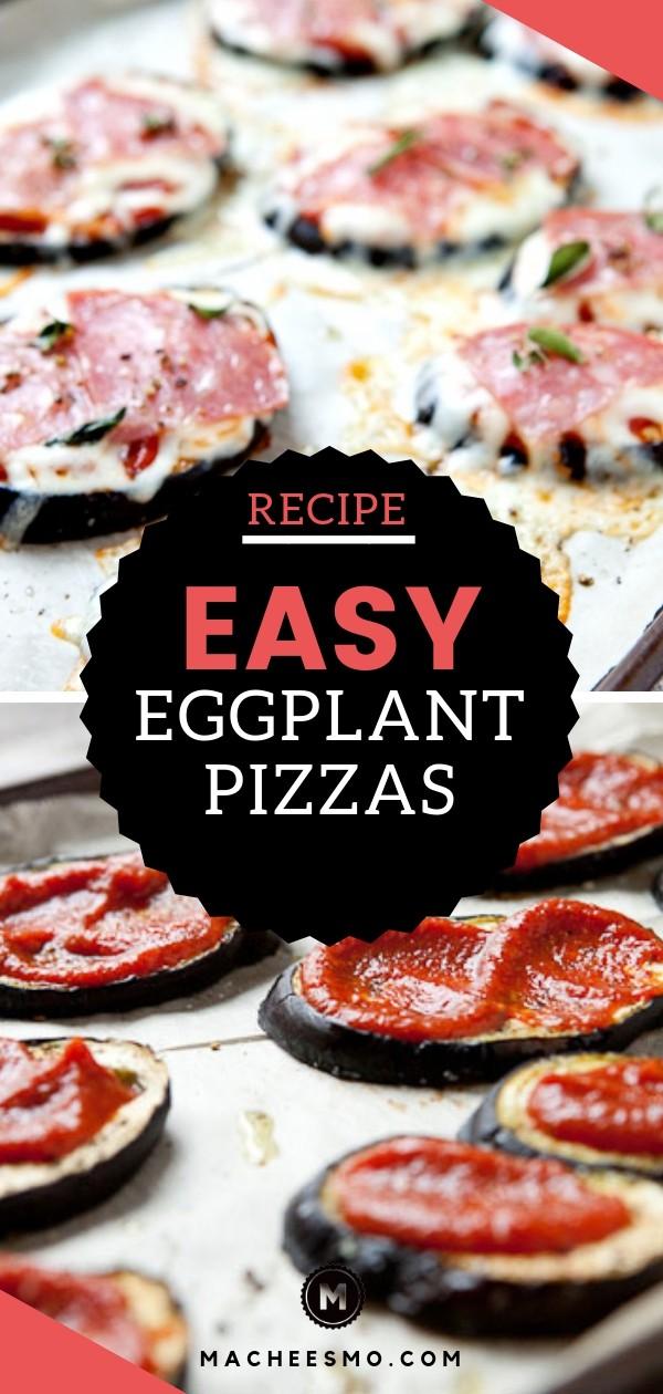 Easy Eggplant Pizza