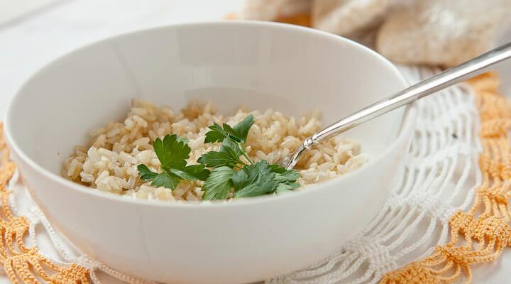 diy instant brown rice