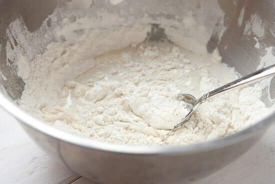 Flatbread dough.