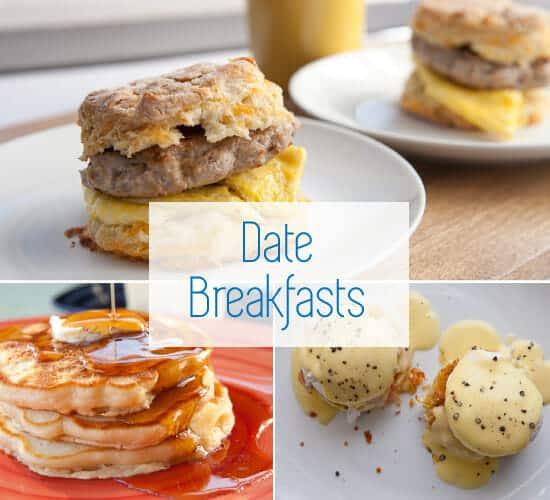 Date night recipe breakfasts