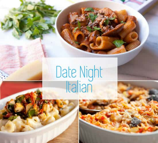 Date night recipes Italian