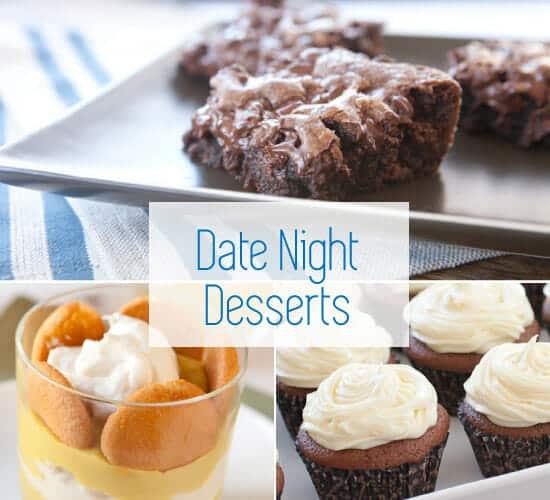 Date night recipe desserts