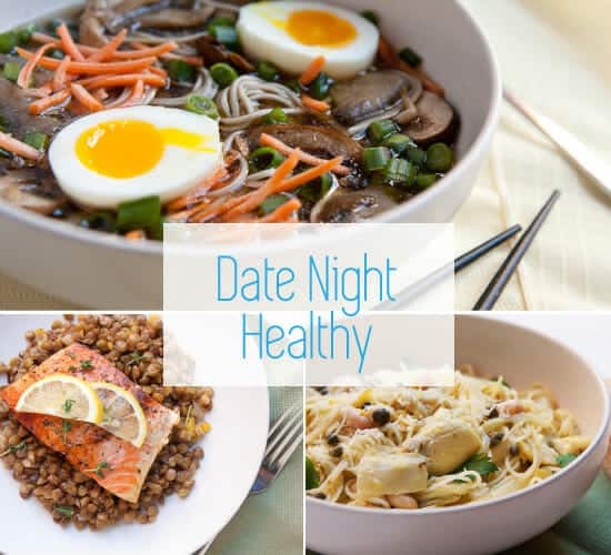 Healthy date night recipes