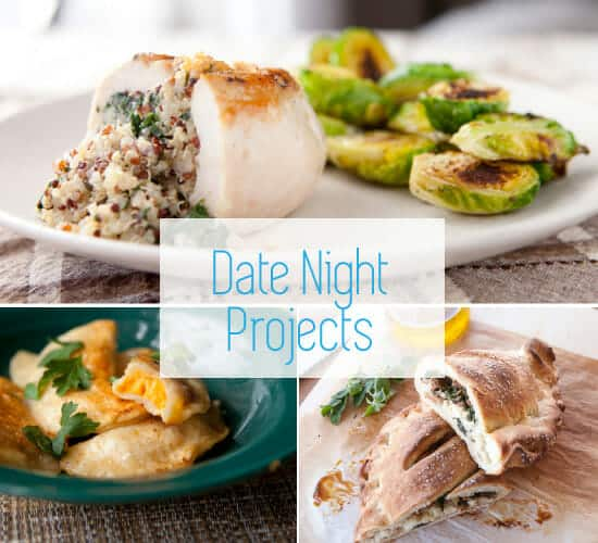Date night recipe projects