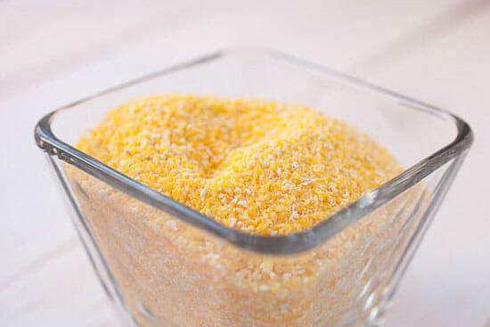 Polenta or grits.