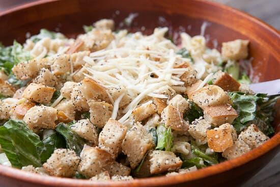 Salad done.