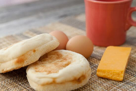 Breakfast sandwich basics.