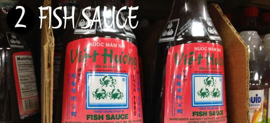 Essential Asian Sauces - Fish sauce