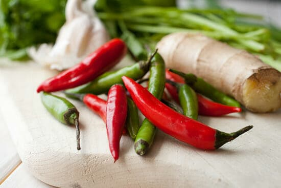 Thai guacamole chilis