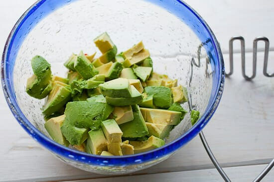 Making Thai Guacamole