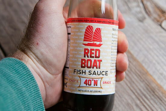 Fish sauce for sprouts.