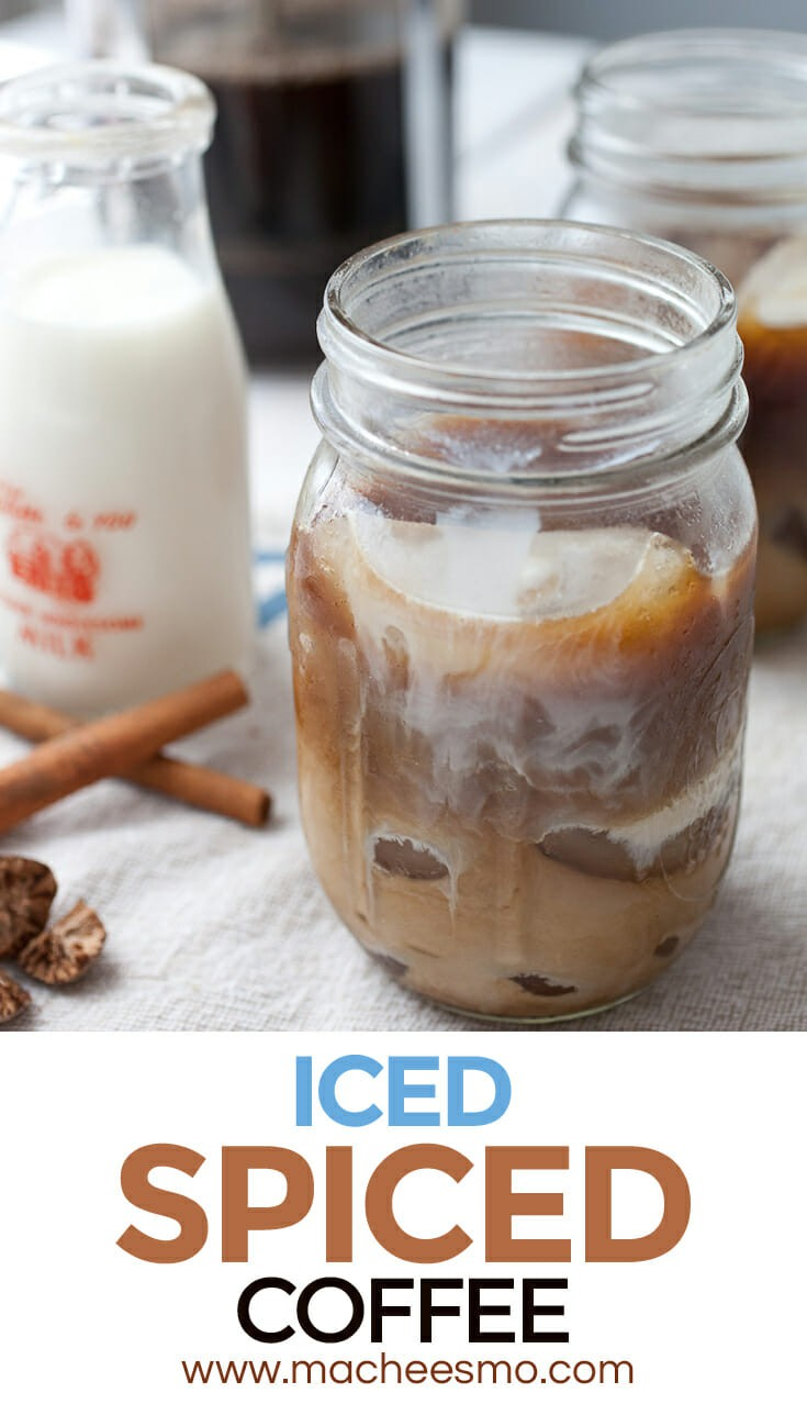 Iced Spiced Coffee: The thing you need to beat the summer heat this year. Make a big batch of it and take it easy.