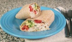 Baja Chicken Wraps