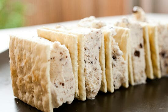 Saltine cracker recipes - ice cream sandwiches
