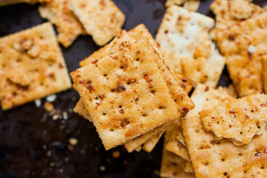 Saltine cracker recipes - firecrackers