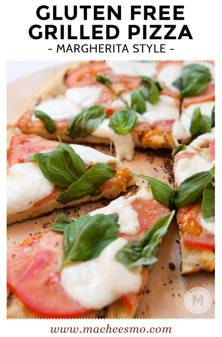 Grilled Gluten Free Pizza: The best way to grill a gluten free pizza to get a super-crispy crust using Bob's Red Mill Gluten Free Pizza Dough.
