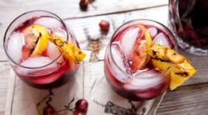 Grilled Fruit Sangria: A great way to change up classic sangria is to grill all the fruit first! It releases the juices and deepens the flavors. Post includes my favorite wine to make sangria!