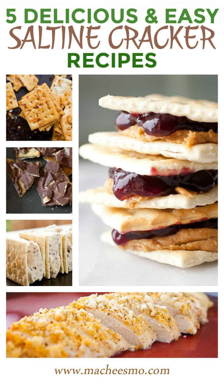 Five Saltine Cracker Recipes!