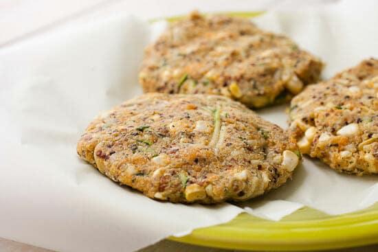 Sweet potato quinoa veggie burgers.