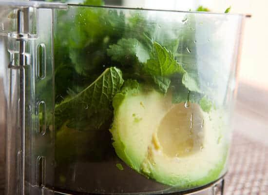 All-purpose summer green sauce.