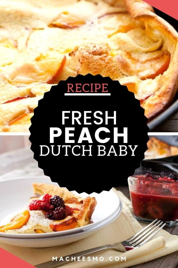 Fresh Peach Dutch Baby
