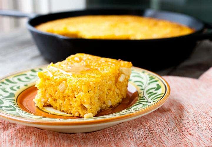 Roasted Corn Cornbread