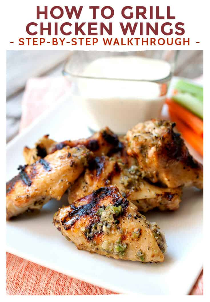 how to grill chicken wings step by step macheesmo
