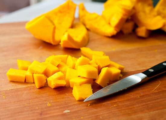 Cubed pumpkin.