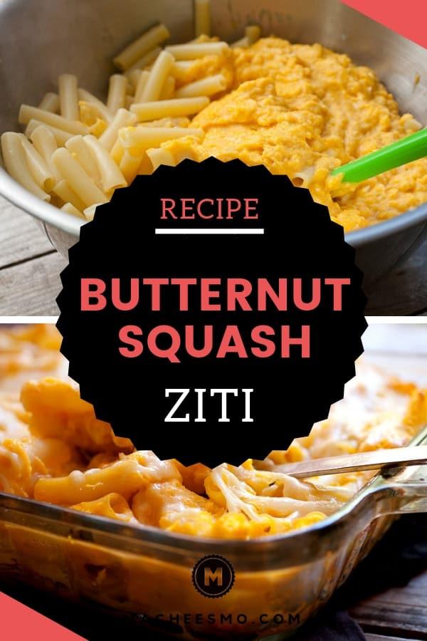 Butternut Squash Baked Ziti