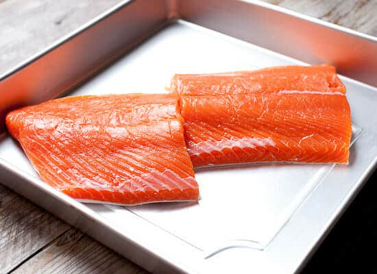 salmon for smoking.