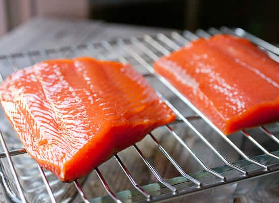 Hot Smoked Salmon Recipe Drying
