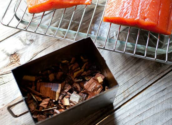 Hot Smoked Salmon Recipe chips